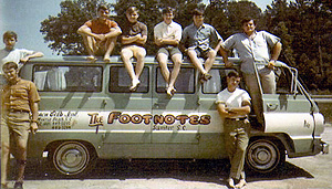 The Footnotes Van
