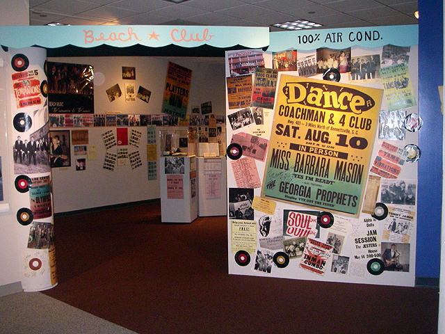 """The Heeey Baby Days Of Beach Music"" Exhibit"