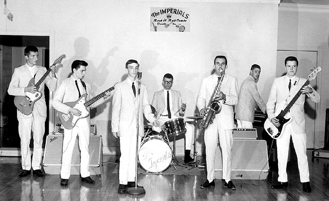 The Imperials Rock N Roll Combo - Danville, Virginia (1963)
