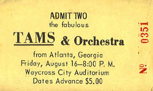 The First Tams Show In Waycross, GA